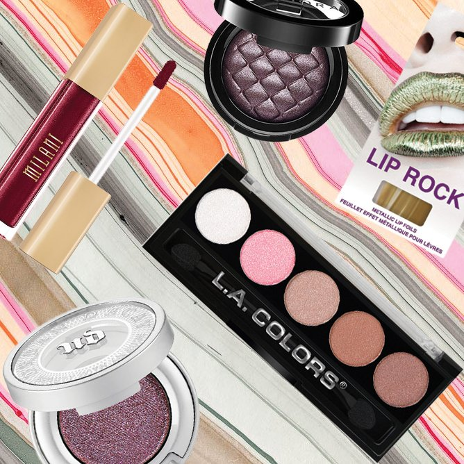Metallic Beauty Products to Sparkle Your Way Through the Holidays