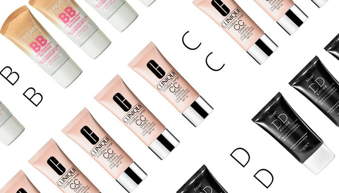 BB, CC, and DD Creams: A Guide