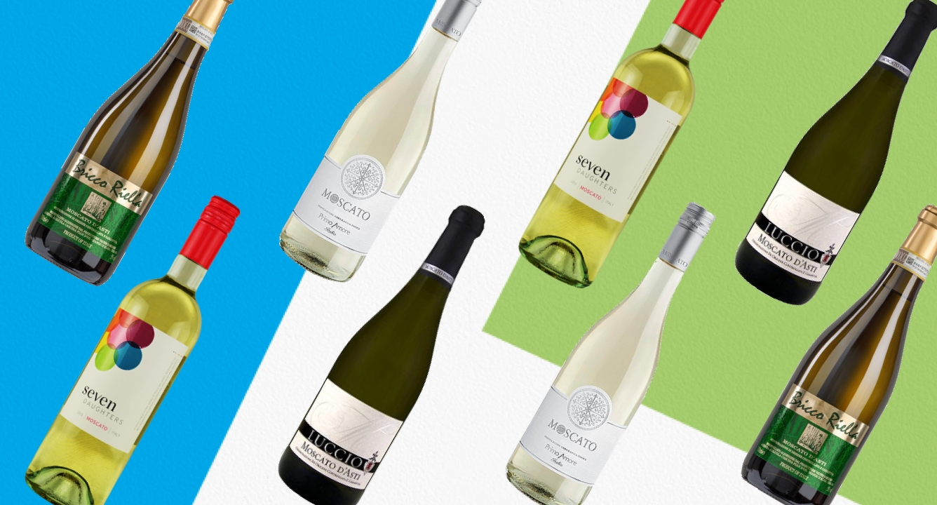 The Best Moscatos for National Moscato Day: 59K Reviews