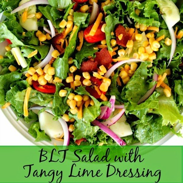 BLT Salad With Tangy Lime Dressing
