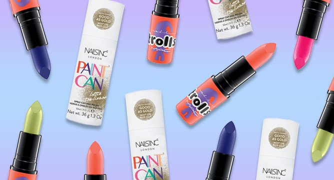 Beauty News: Gold Nail Spray, Troll Lipsticks, and More!