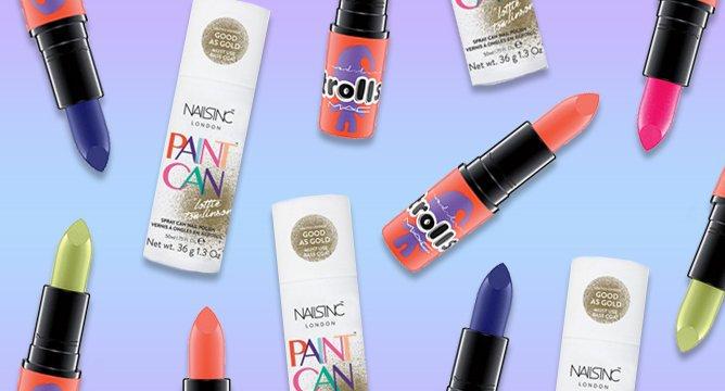 Beauty News: Gold Nail Spray, Troll Lipsticks, and More!