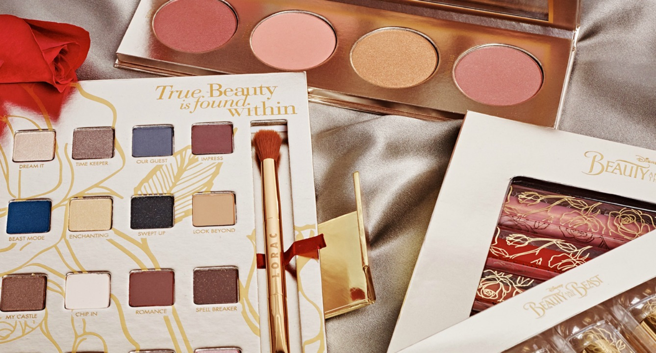 This LORAC x Beauty & the Beast Collab is Everything