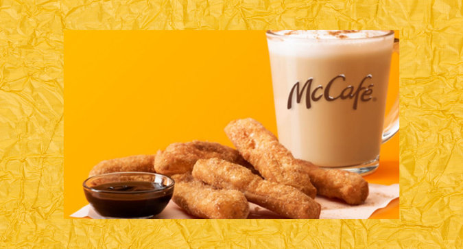 Get Ready for McDonald's New Cinnamon Cookie Latte