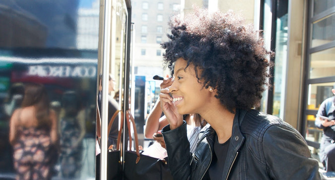 COVERGIRL Wants You to Do Your Makeup On the Street