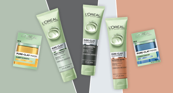 The New Era of Muti-Masking with L'Oréal Paris Pure-Clay Cleansers and Masks is Here