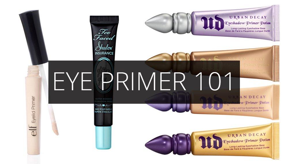Eye Primer 101: A Comprehensive Guide