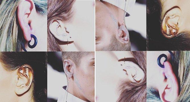 Insta Trend: Ear Makeup