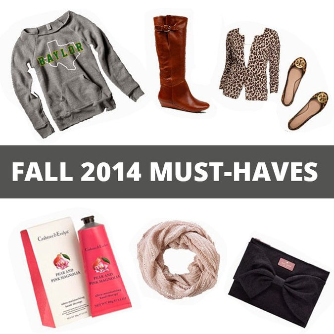 6 Fall 2014 Must Haves