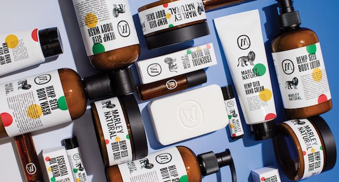 INCOMING! The Marley Natural Body Care Line