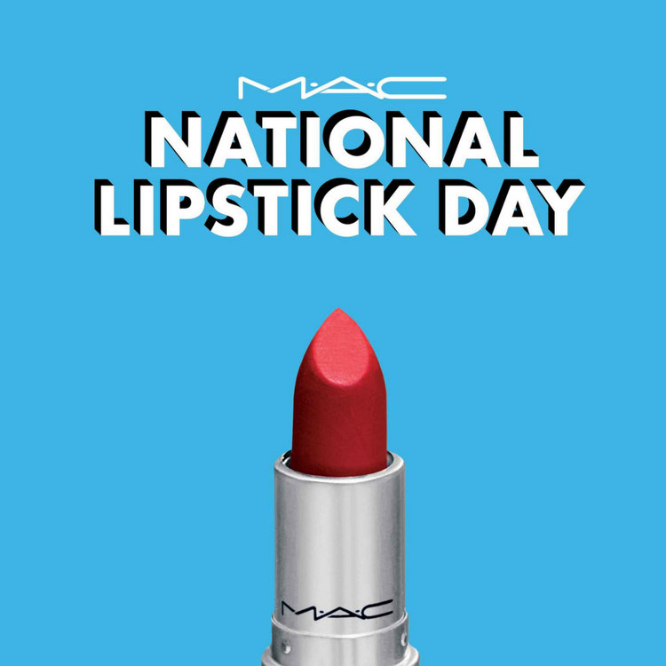 Here's How to Get Free MAC Lipstick on #NationalLipstickDay