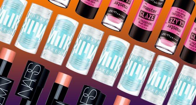 #TrendingNow: Stick Versions Of Your Favorite Makeup
