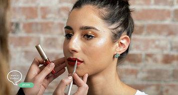 Beauty 101: Perfect Glittery Gold NYE Makeup!