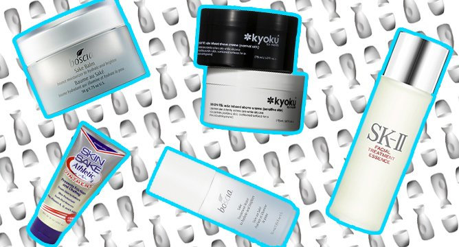#TrendingNow: Sake in Your Skincare