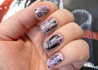 Abstract Graffiti Manicure Tutorial