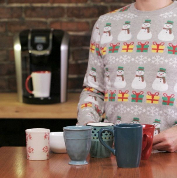 We love this holiday-themed Instagram post from KeurigCanada