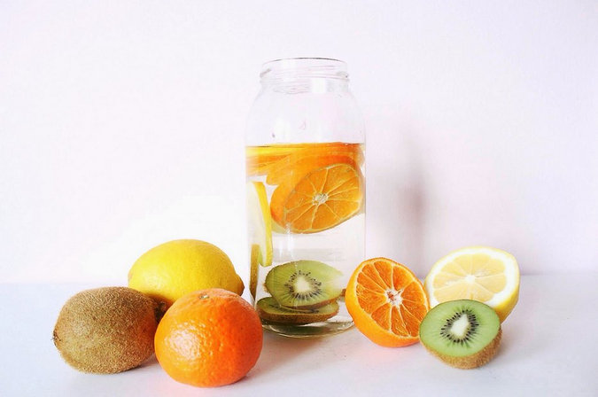 How To Detox with Infused Water