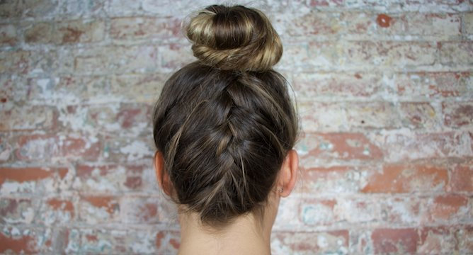 Braid Bible: The French Braid Updo