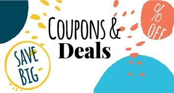 NEW! Shop With Our Exclusive Coupons & Deals