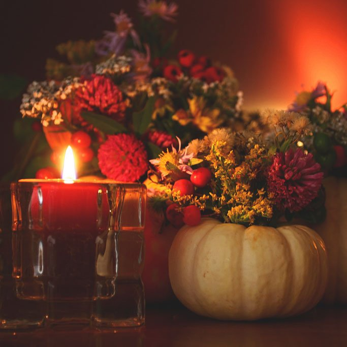 Last Minute DIY Thanksgiving Décor