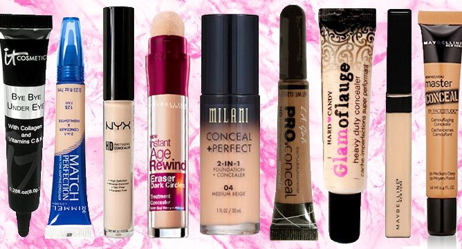 Top 10 Drugstore Concealers