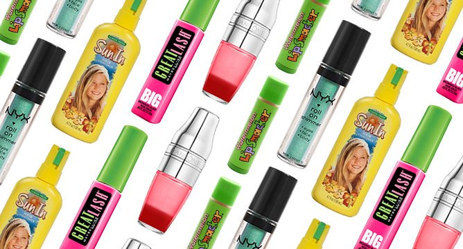 Your Favorite Teenage Beauty Products: Then and Now