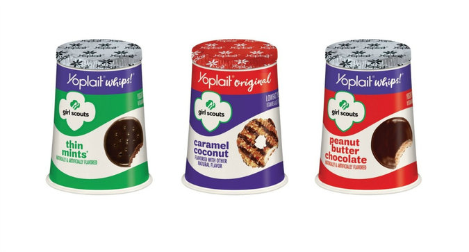 Yoplait x Girl Scout Cookies Yogurts are Here