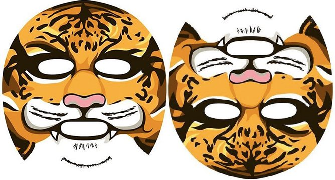 Weird Product Alert: Animal Sheet Masks