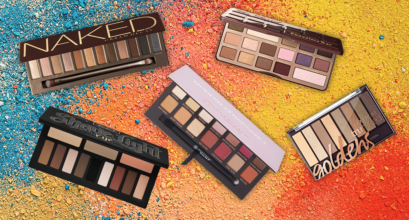 Influensters' Favourite Eyeshadow Palettes