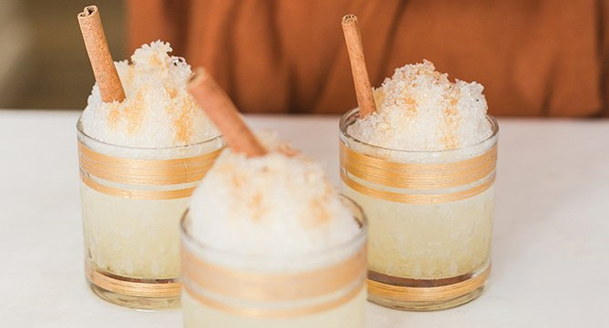 Treat to Try: Homemade Spiced Apple Cider Snow Cones