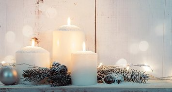 Candles Perfect for Hibernating Season