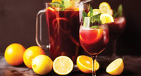 Halloween Fall Sangria