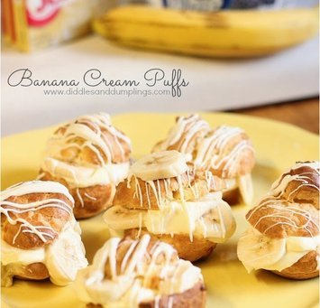 We All Scream For....Banana Cream!