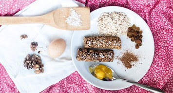 Yummy Cereal Bars for Breakfast on the Go