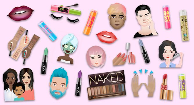 Beauty News Update: L'Oreal Introduces Beauty Emojis