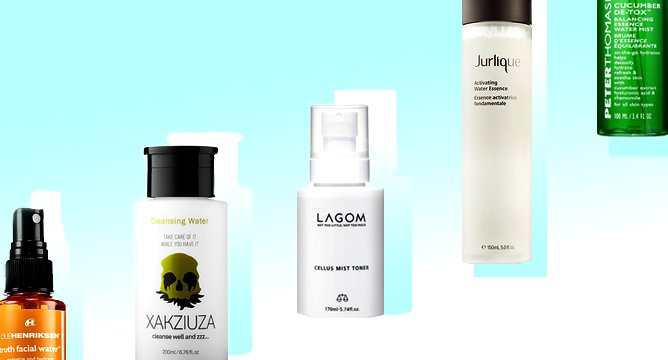 Your Guide to Every Type of Beauty Water