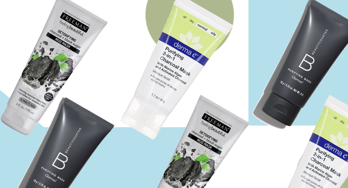 6 Charcoal Face Masks For Glowing Skin