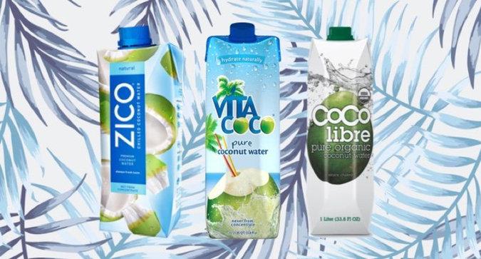 The Best Tasting Coconut Waters