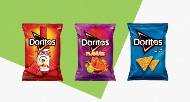 The Best Doritos Flavors: 208K Reviews