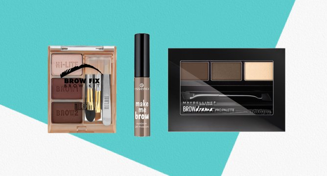 45K Reviews: The Best Drugstore Eyebrow Products of 2016