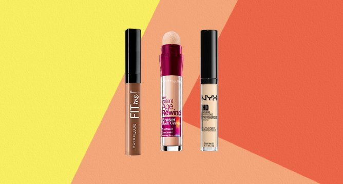 122K Reviews: The Best Drugstore Concealers
