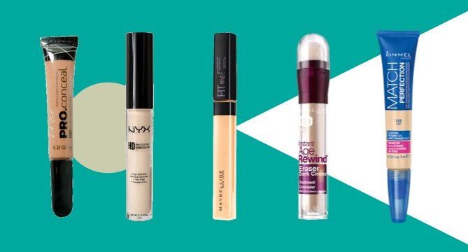 The Best Drugstore Concealers of All Time