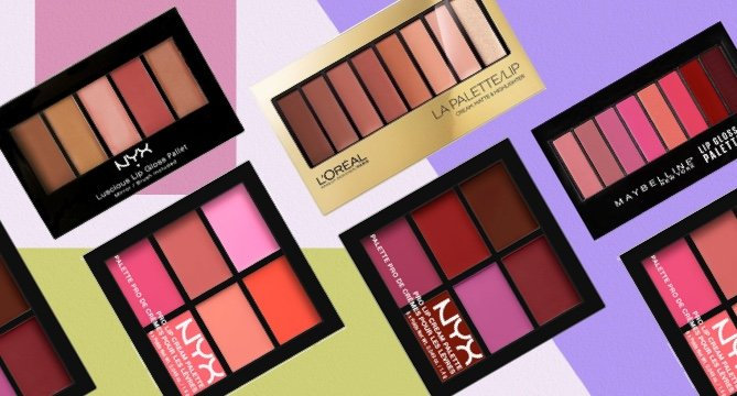 5 Drugstore Lip Palettes to Try