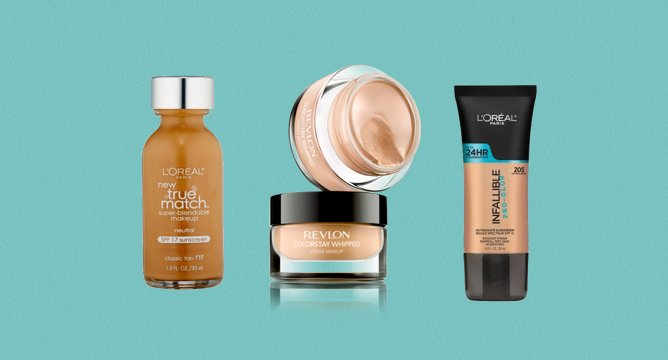 165K Reviews: 2016's Best Drugstore Liquid Foundations