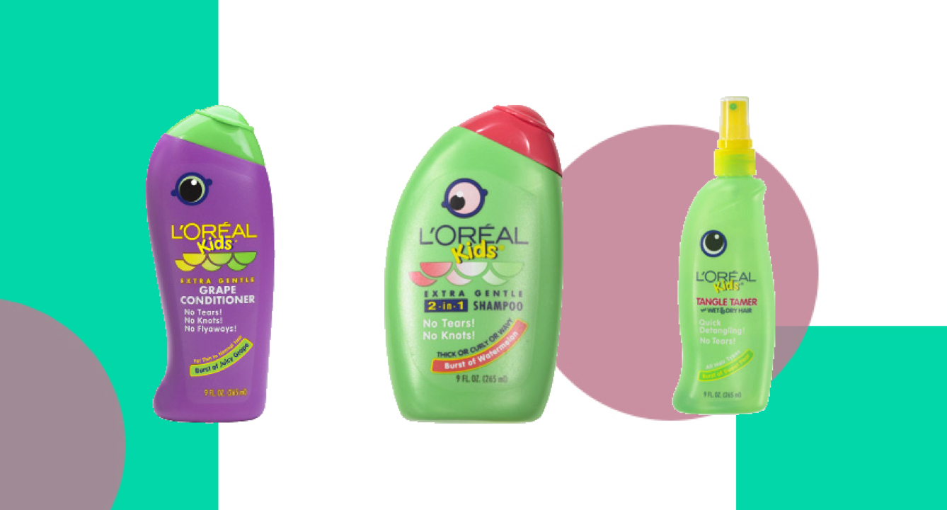 The Best L'Oréal Products For Kids
