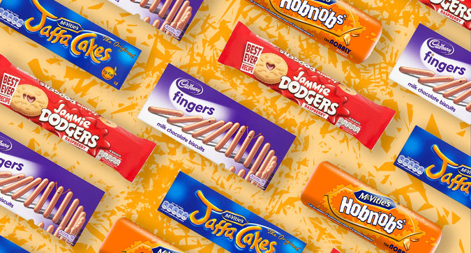 British Biscuits for the Royal Wedding