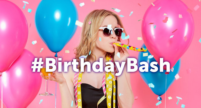 Get Ready to Party With Our #BirthdayBash Contest