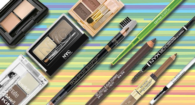 10 Best Drugstore Eyebrow Products