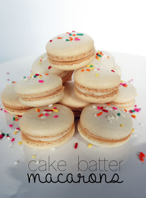 Cake, Cake, Cake... Batter Macarons