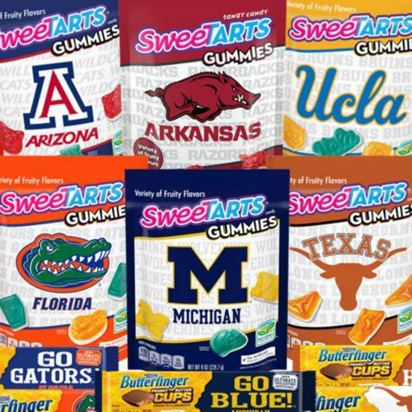 You Can Get College Football-Themed Candy